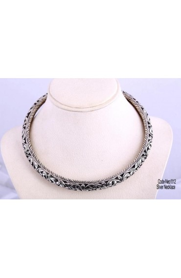 900 pure silver necklace-NEC-012