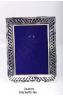 900 Pure Silver ART-015 Sterling Silver Photo Frame