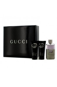 Gucci Guilty Pour Homme Coffret Gift Set for Men (Set of 3) (Import Only)