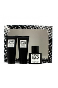 Kenneth Cole Vintage Black Coffret Gift Set for Men (Set of 3) (Import Only)