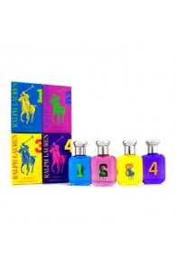 Ralph Lauren The Big Pony Fragrance Collection Coffret Gift Set for Women (Set of 4 x 15 ml) (Import Only)
