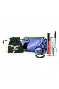 STILA New Years Eve Glam Makeup Set(1x Eyeshadow, 1x Liquid Lipstick, 1x Mascara, 1x Bangle with Pouch, 1x Clutch)